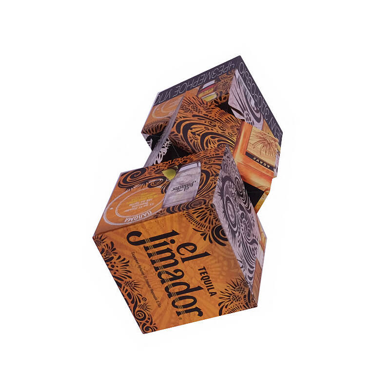 Rotate Wine Bottle Packing Boxes