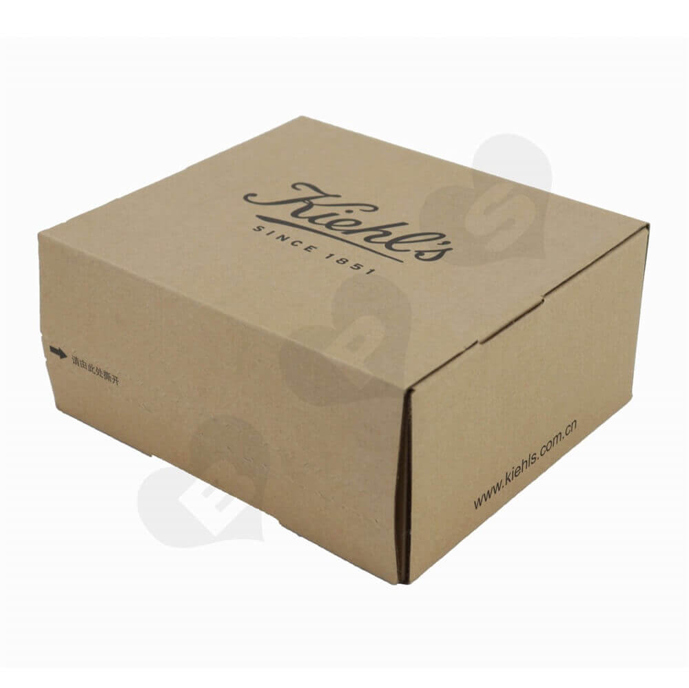 Secure Sealing Shipping Box For Cosmetics Side View Two