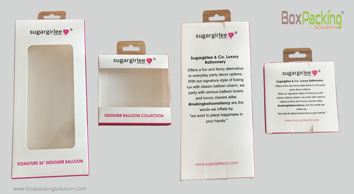 Shelf Packaging Box Design