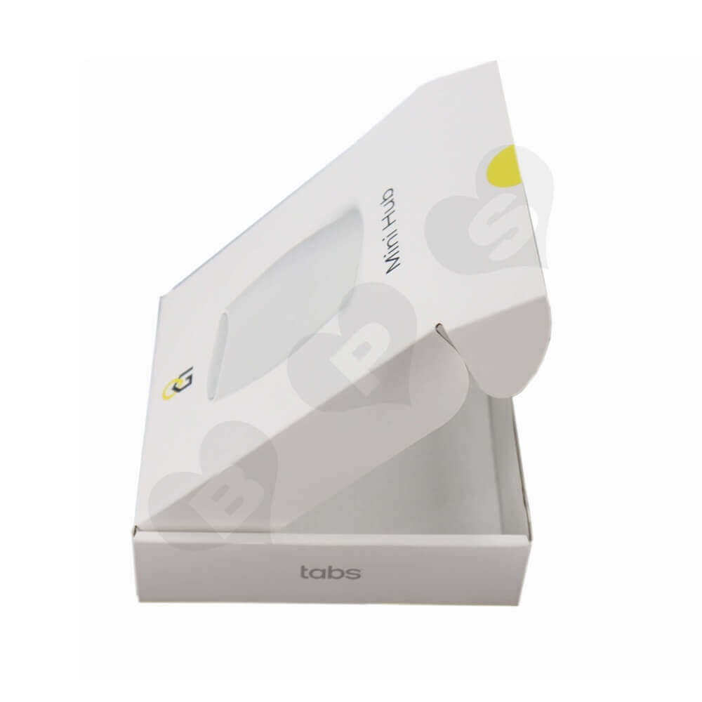 Smart Home Device Packaging Box Side View Three