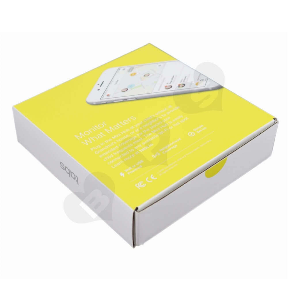 Smart Home Device Packaging Box Side View Two