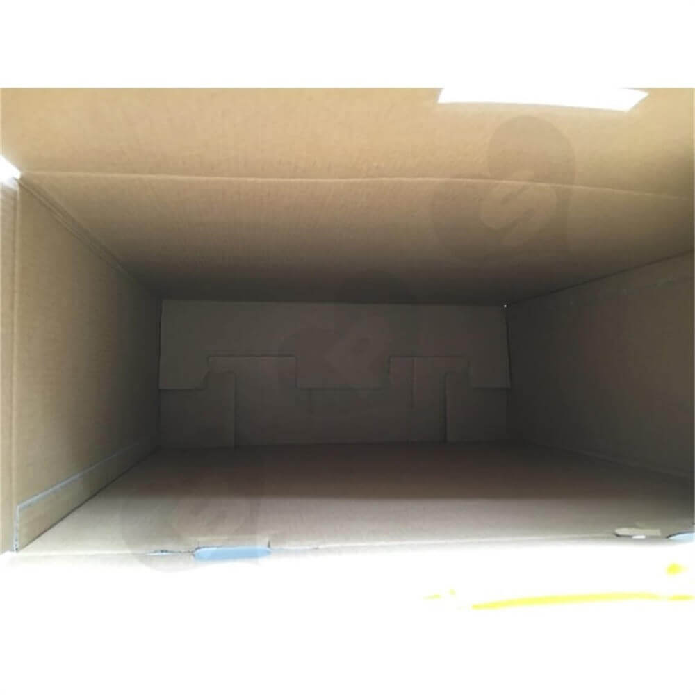 Snap Bottom Corrugated Shipping Carton Side View Four
