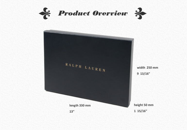 Soft Touch Shirt Packaging Box