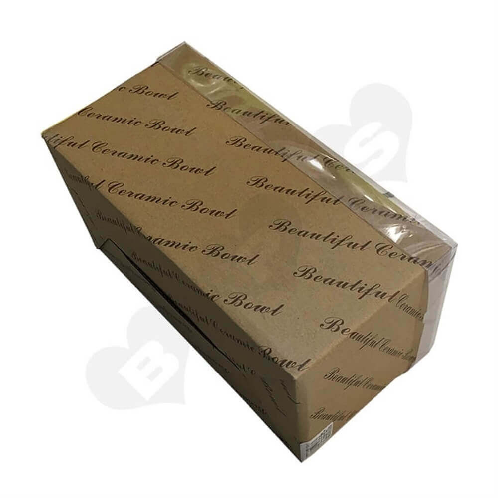 Tableware Retail Packaging Box Side View Seven