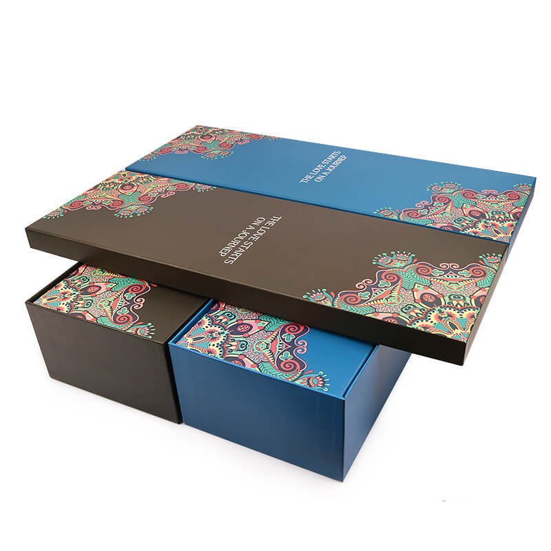 Telescope Flower Boxes With Ribbon Large Gift Boxes