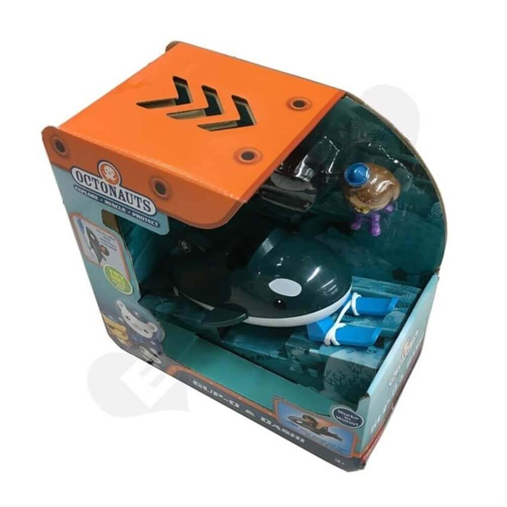 Toy Submarine Packaging Box Sideview One