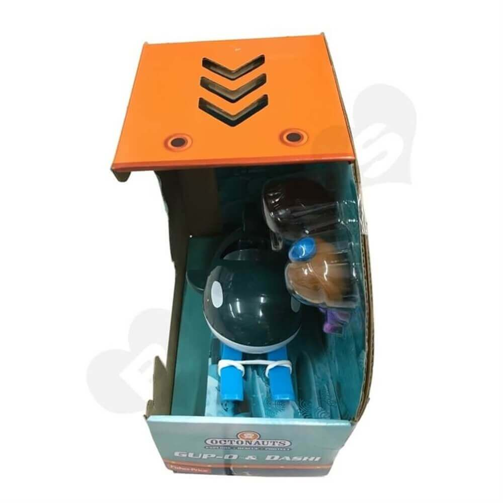 Toy Submarine Packaging Box Sideview Three