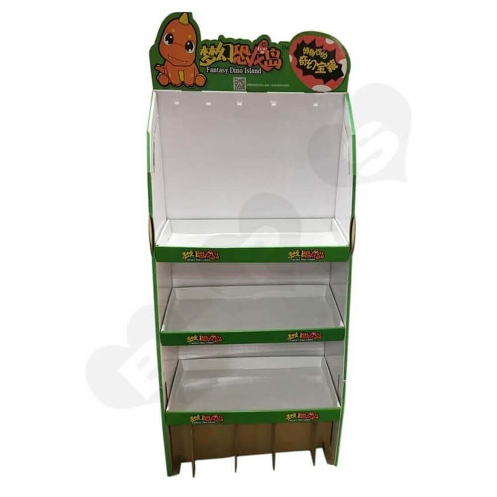 Toys Floor Display Stands Sideview Six