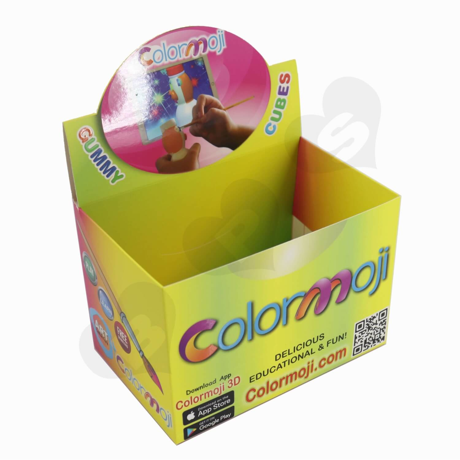 Toys Packaging Box Display with Perforation Line
