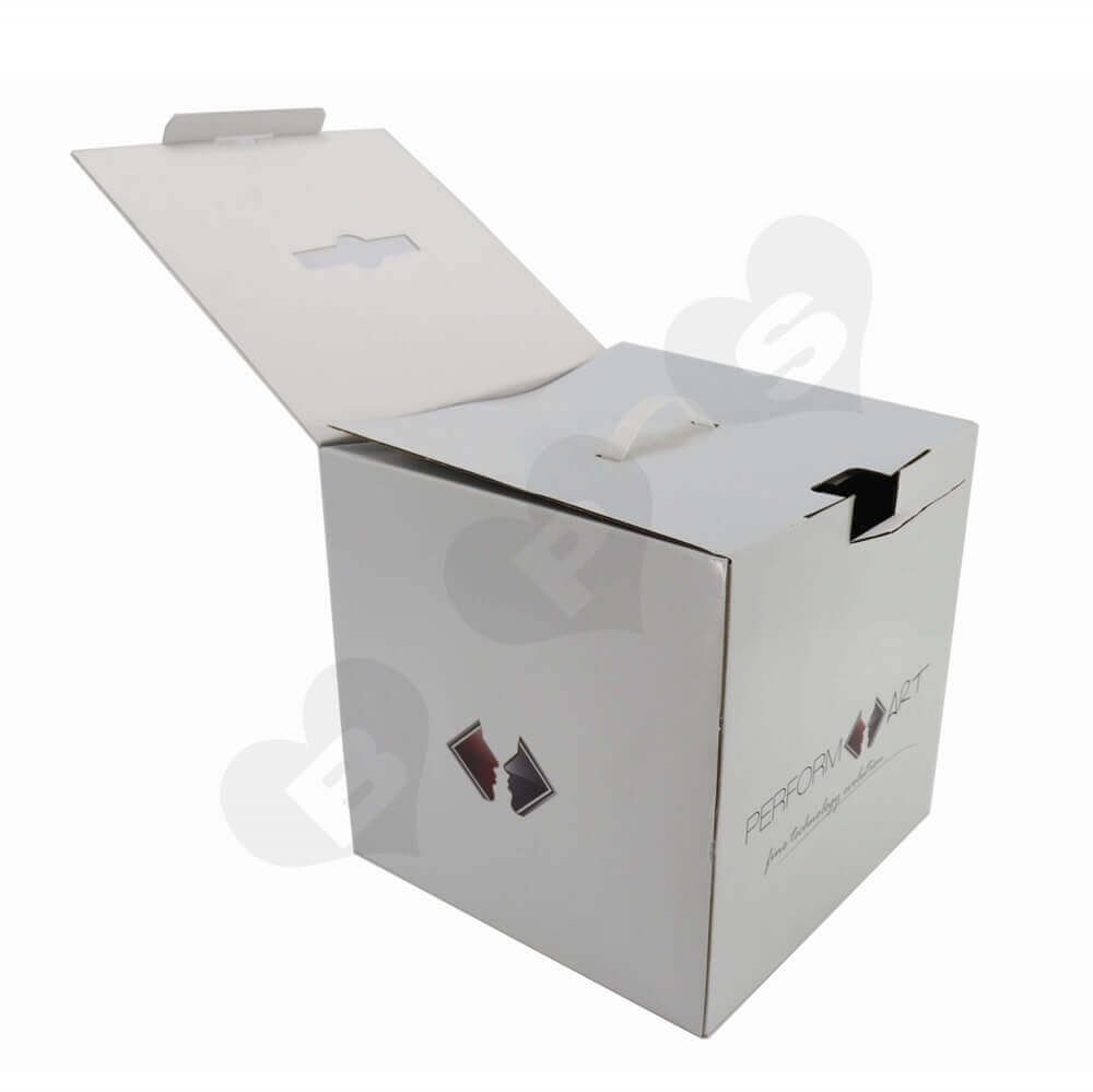 Transdermal Cosmetic Device Shipping Carton Side View Three