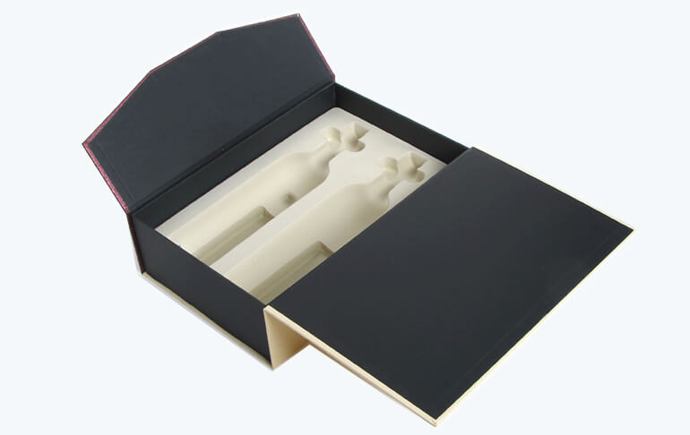 Two Pack Red Wine Box With Blister Insert