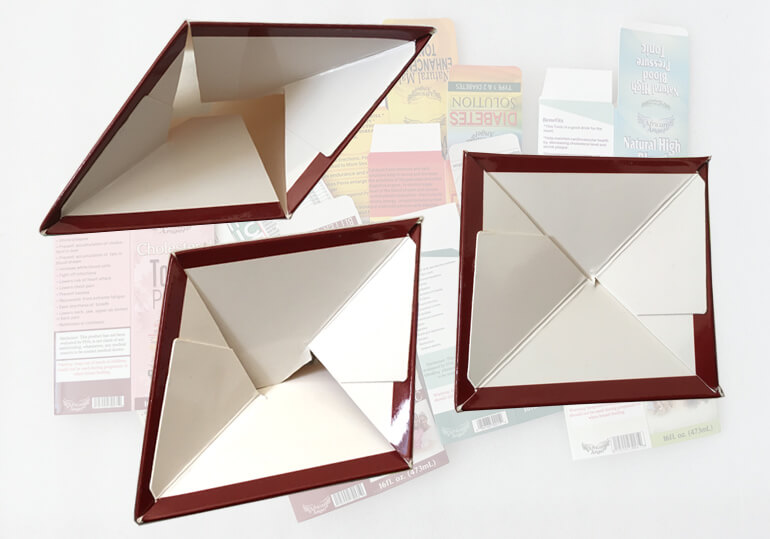 auto lock bottom paper box