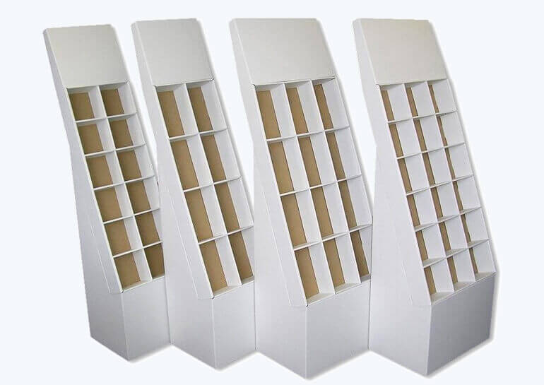 corrugated CD display boxes
