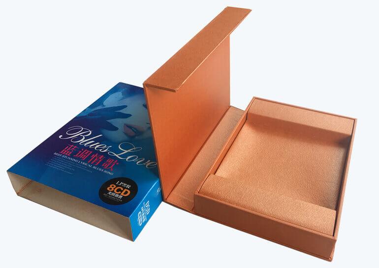custom CD packaging box