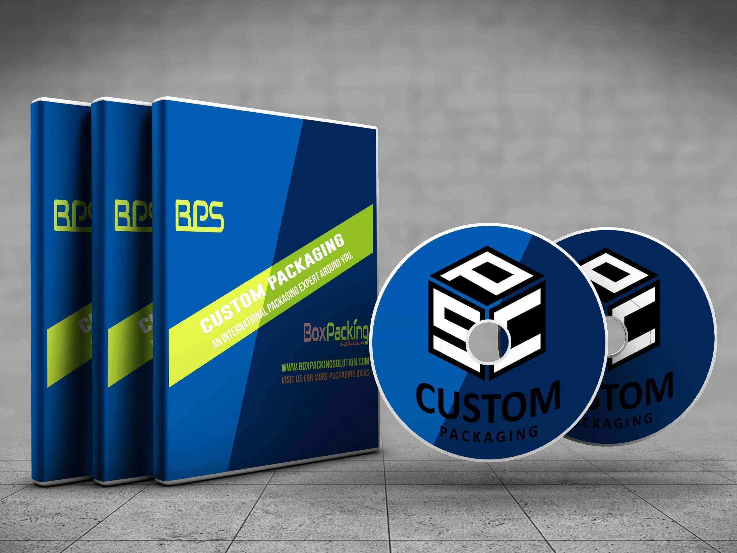 custom CD packing box printing