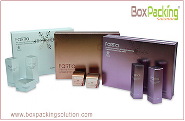 custom cosmetic packaging solution