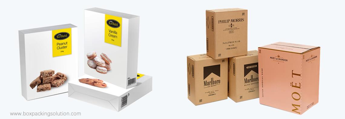 custom food retail packaging boxesood retail packaging boxes