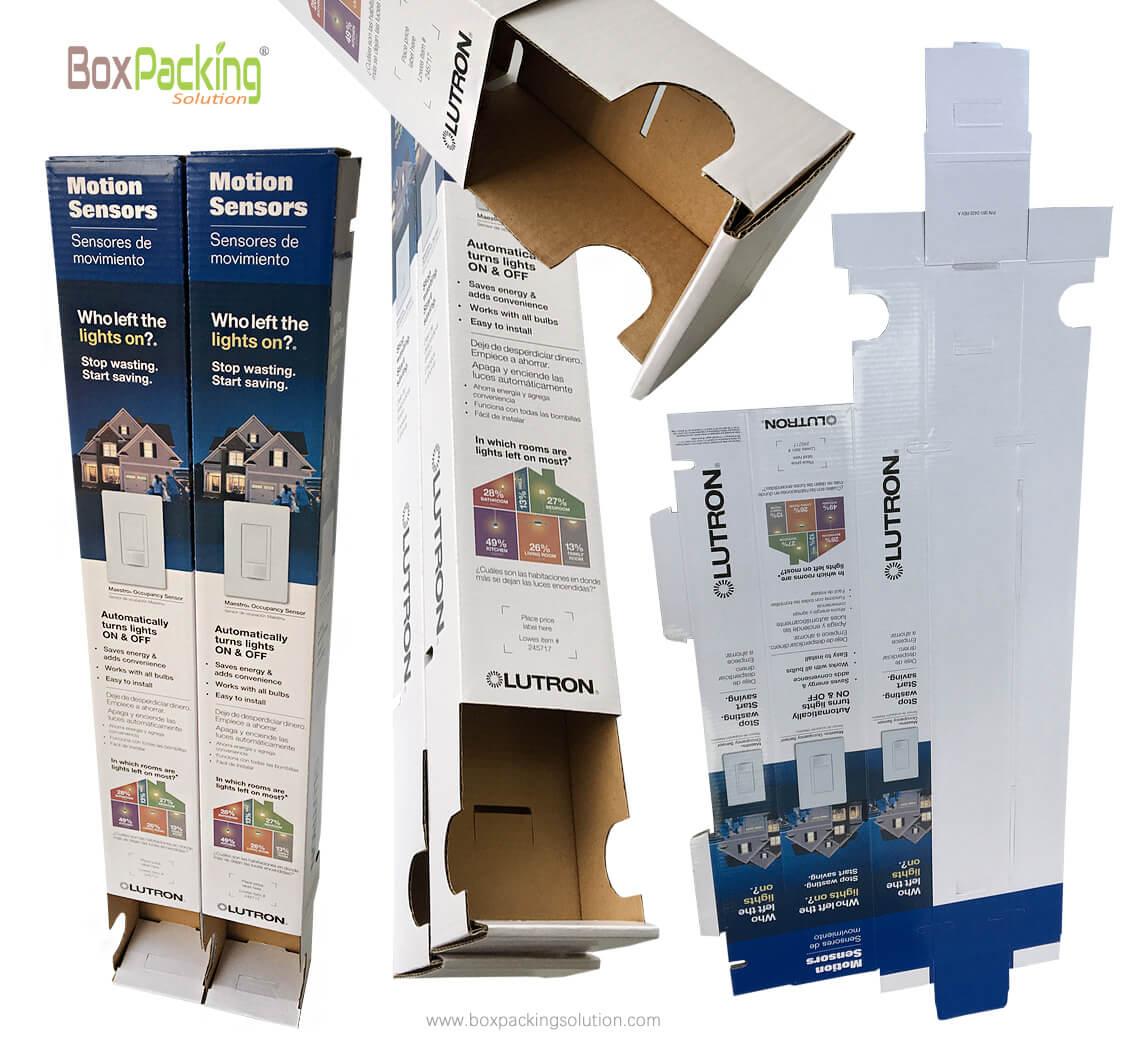 custom packaging design, Motion Light Sensor Packaging Boxes