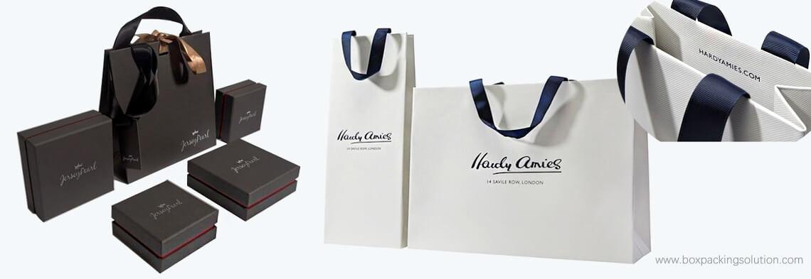 custom retail sales shopping bags