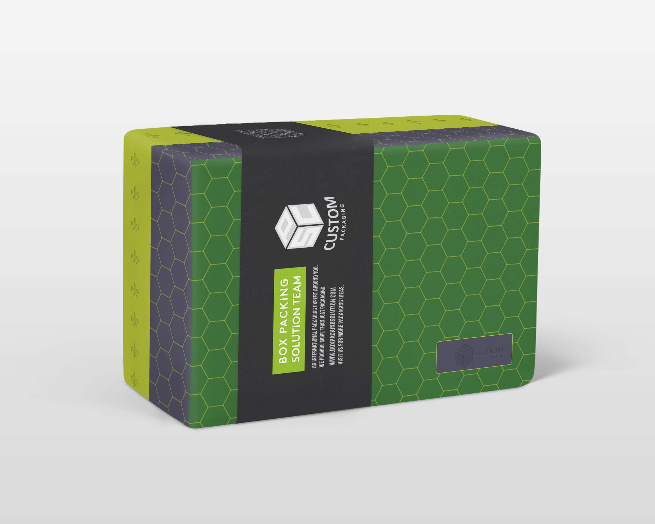 customized rigid box with sleeve mock-up