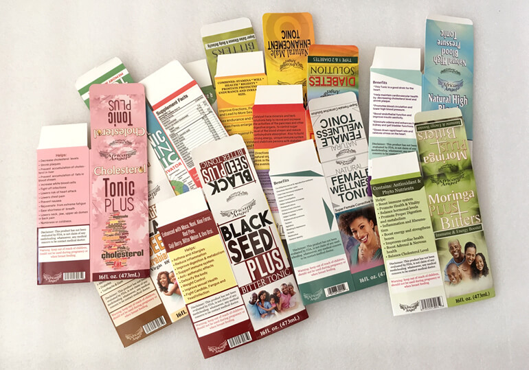 health product packaging paper boxes