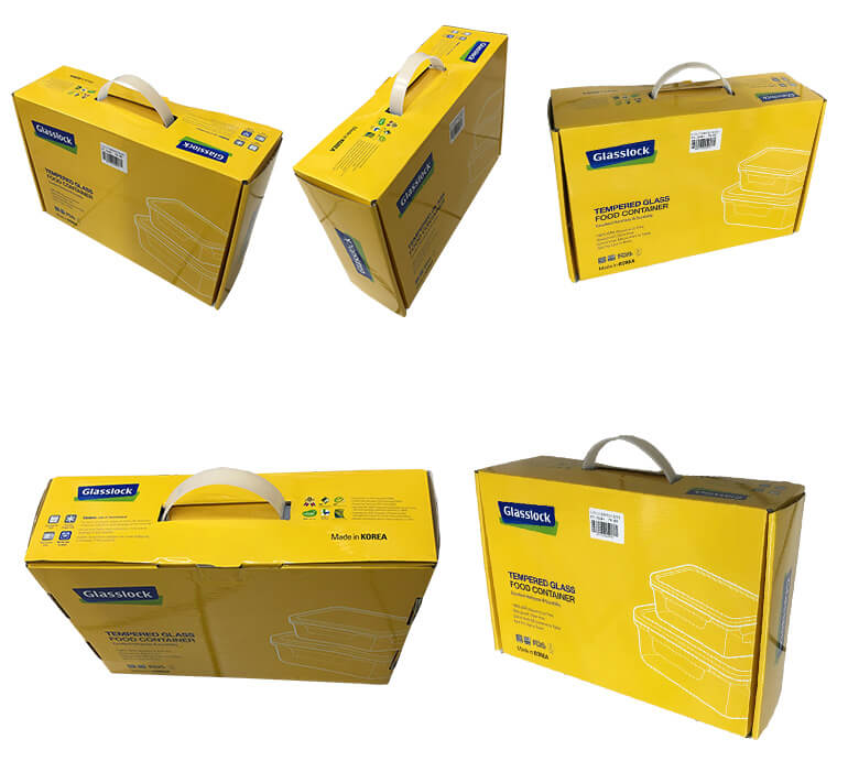 mailer box withn handles
