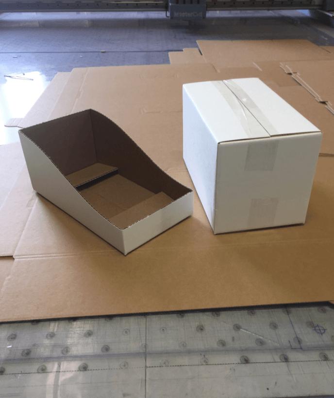 samples for shelf-ready packaging