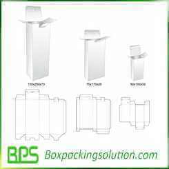 3 size package box design
