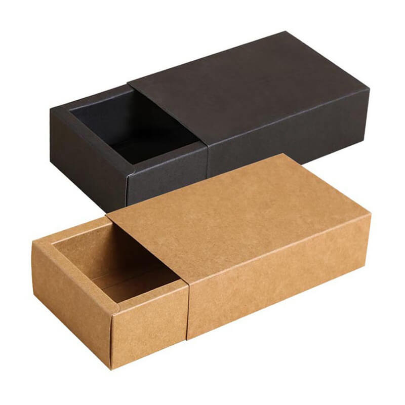 Easy Foldable Slide Style Kraft Box Packaging