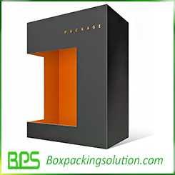 TV set top packaging template design