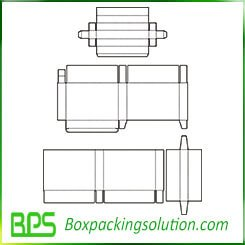 apparel packaging box template