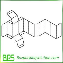 baby product packaging box template