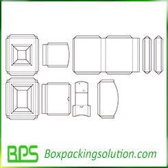 box insert template new