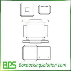 box inserts and cardboard folder templates