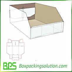 cardboard bin design templates