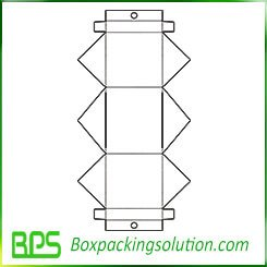 cardboard bin template