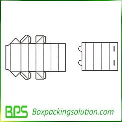 cardboard box with insert packaging templates