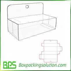 cardboard corrugated displays design template