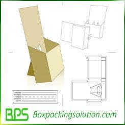 cardboard display box templates