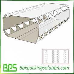 cardboard egg holder design template