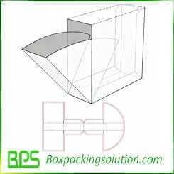 cardboard feeding box template