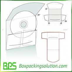 cardboard folder for CD albulm