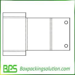 cardboard folder template design
