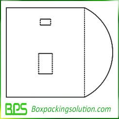 cardboard folder template