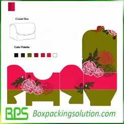 cardboard gift boxes design template