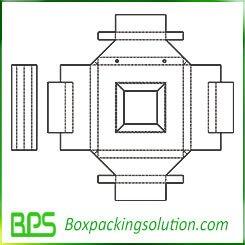 cardboard insert template