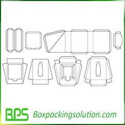 cardboard inserts design templates