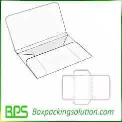 cardboard mailer design template