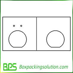 cardboard packaging insert templates