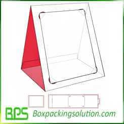 cardboard photo frame design template